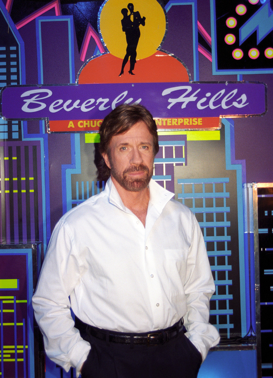 Chuck Norris in Moscow.