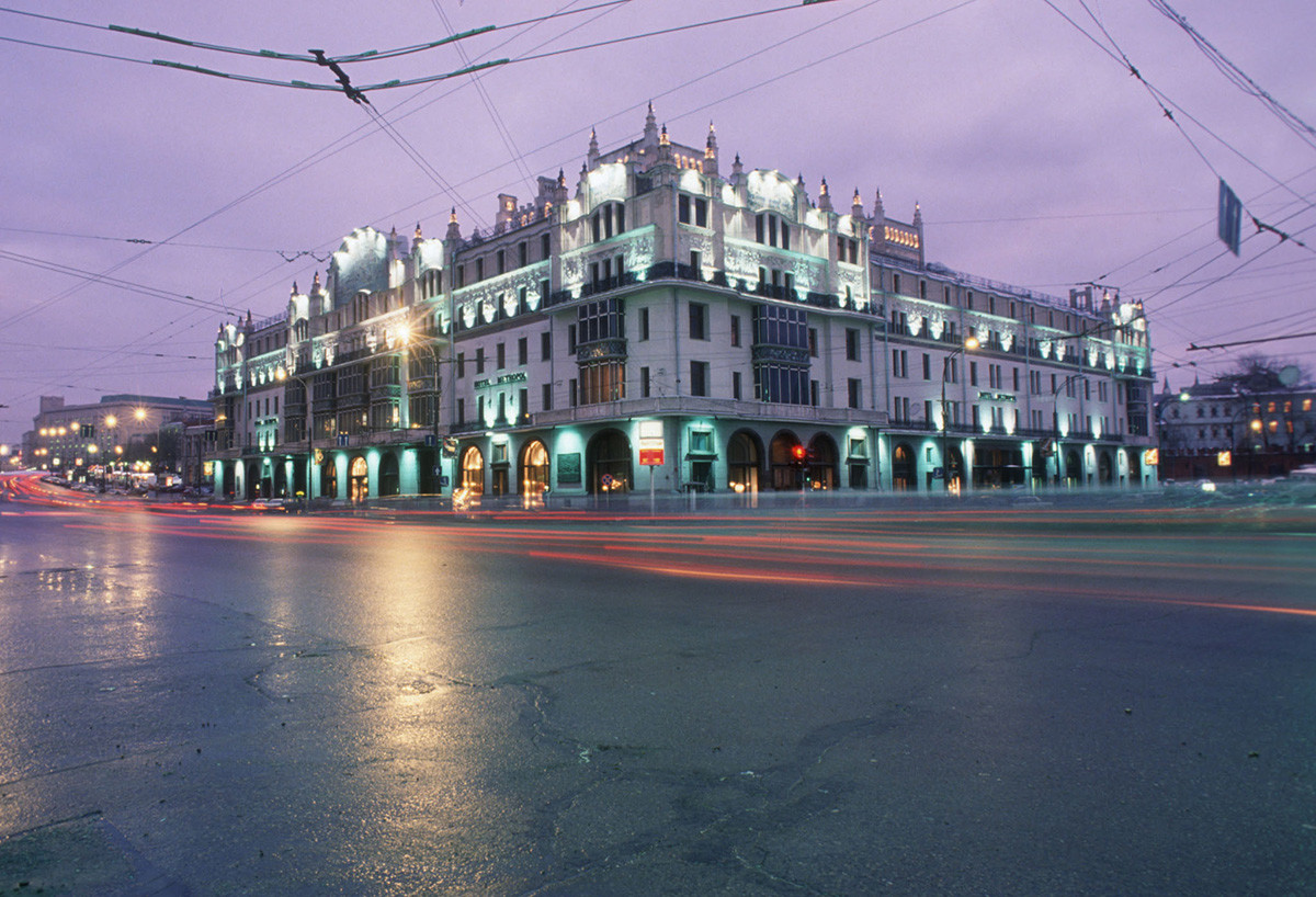 The Metropol Hotel in central Moscow.
