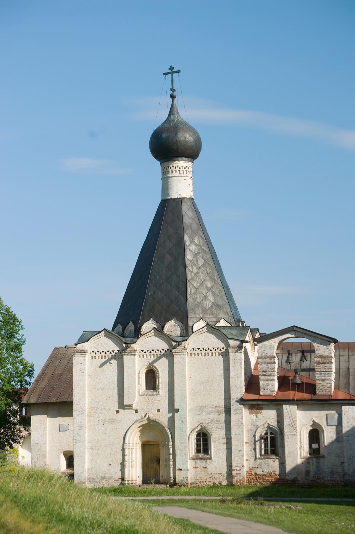 Église Saint-Euthyme, vue ouest.