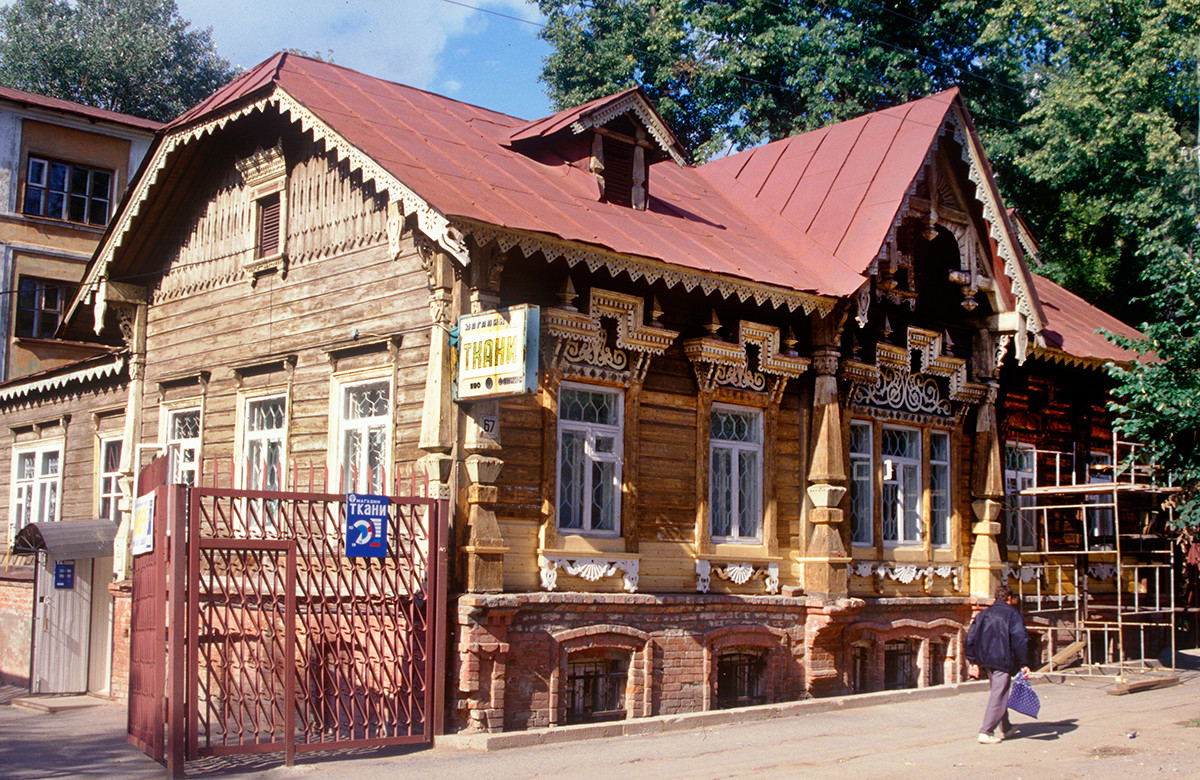 Perm. Tokarev House. August 23, 1999
