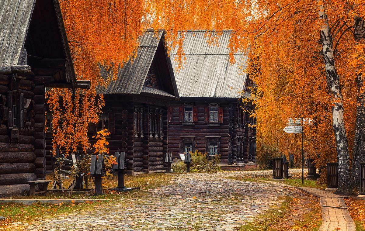 Région de Kostroma – Automne à Kostroma