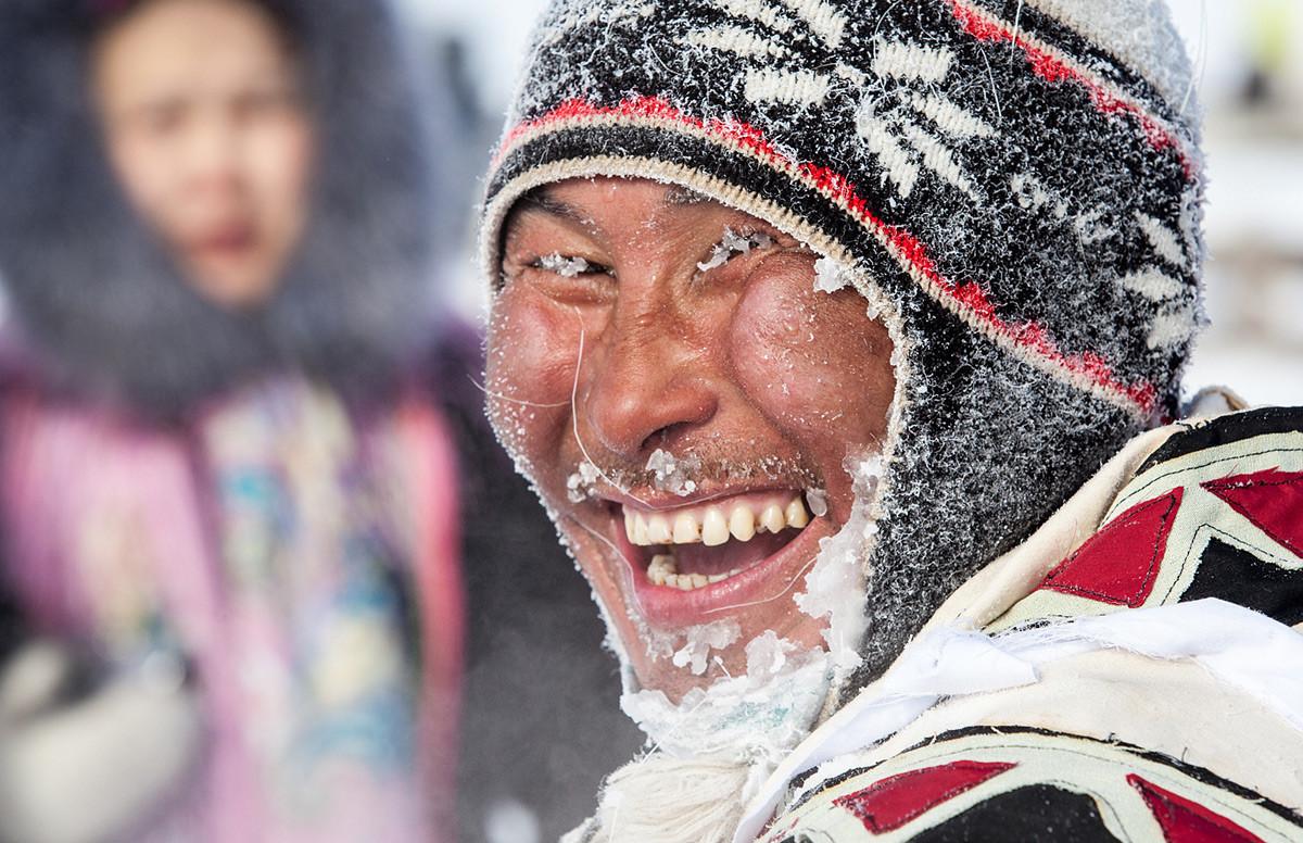 Région de Krasnoïarsk – Un éleveur de rennes de la péninsule de Taïmyr