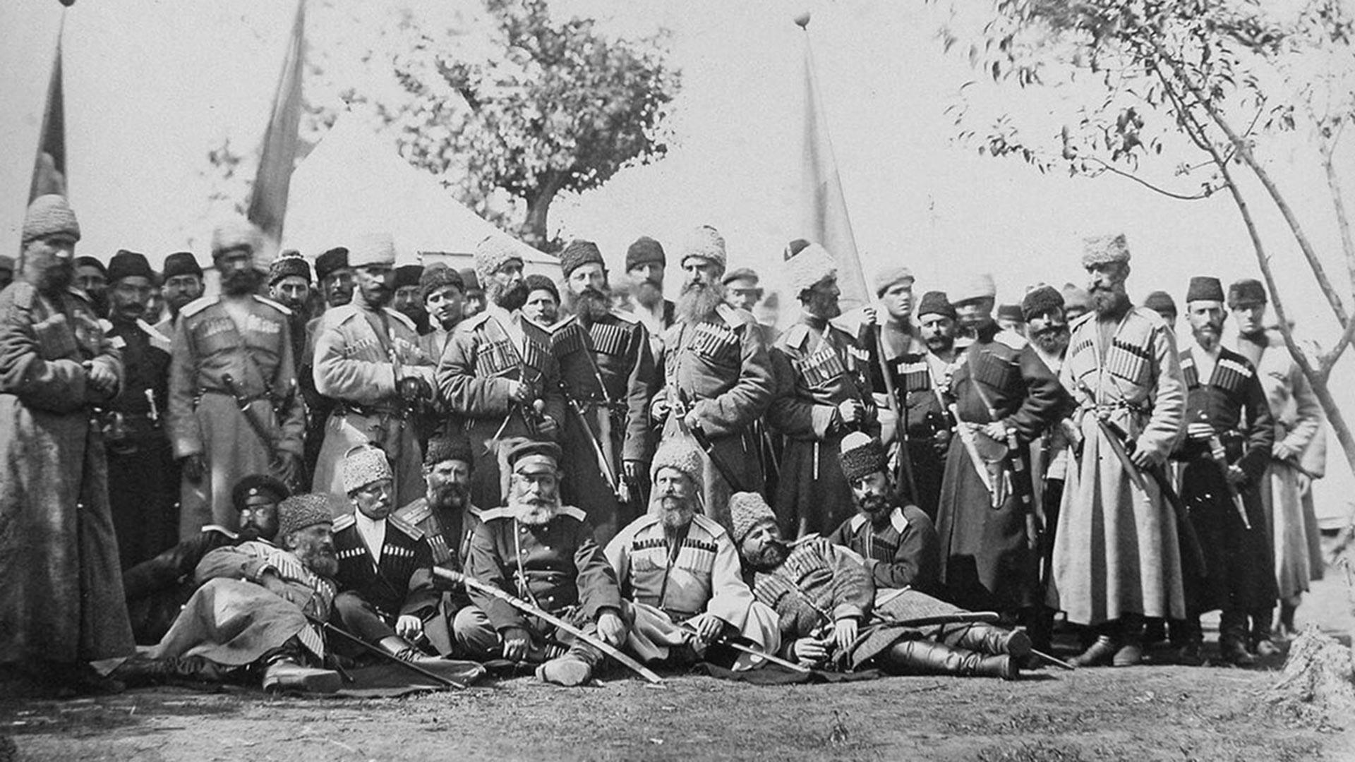 1-я Кавказская казачья дивизия.