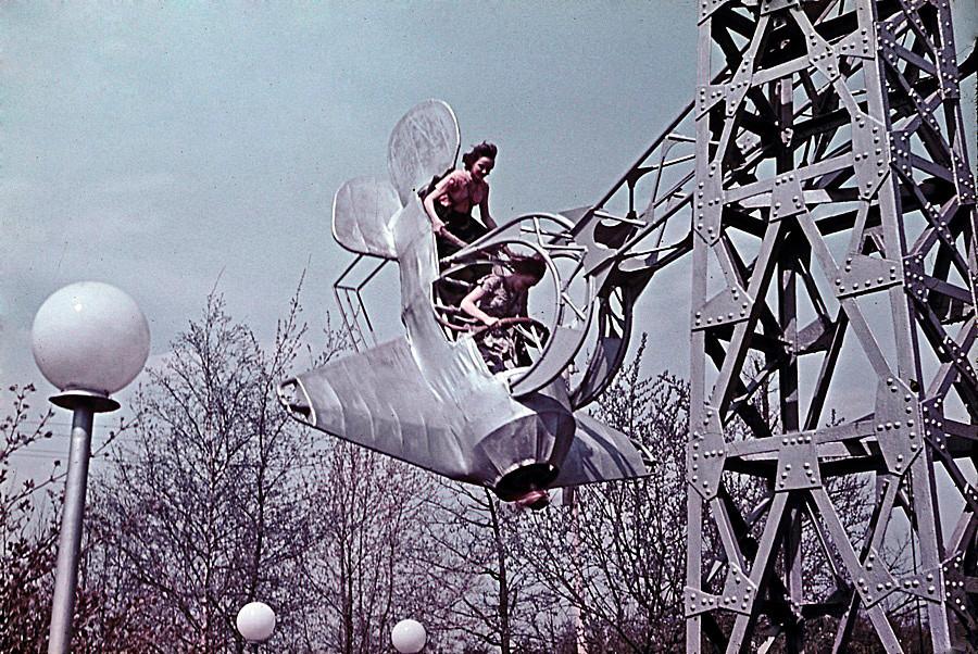 Parc Izmaïlovo, Moscou, 1962
