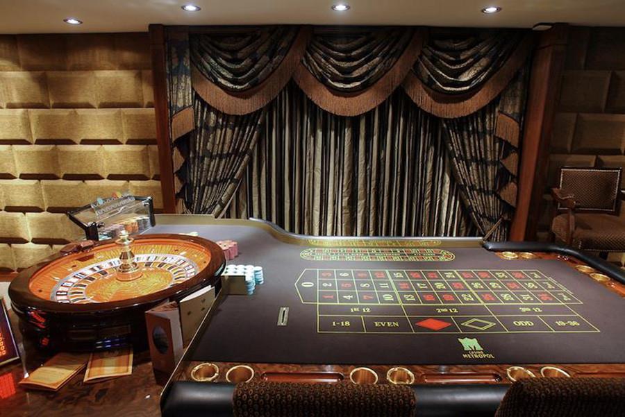La sala VIP all'hotel Metropol di Mosca