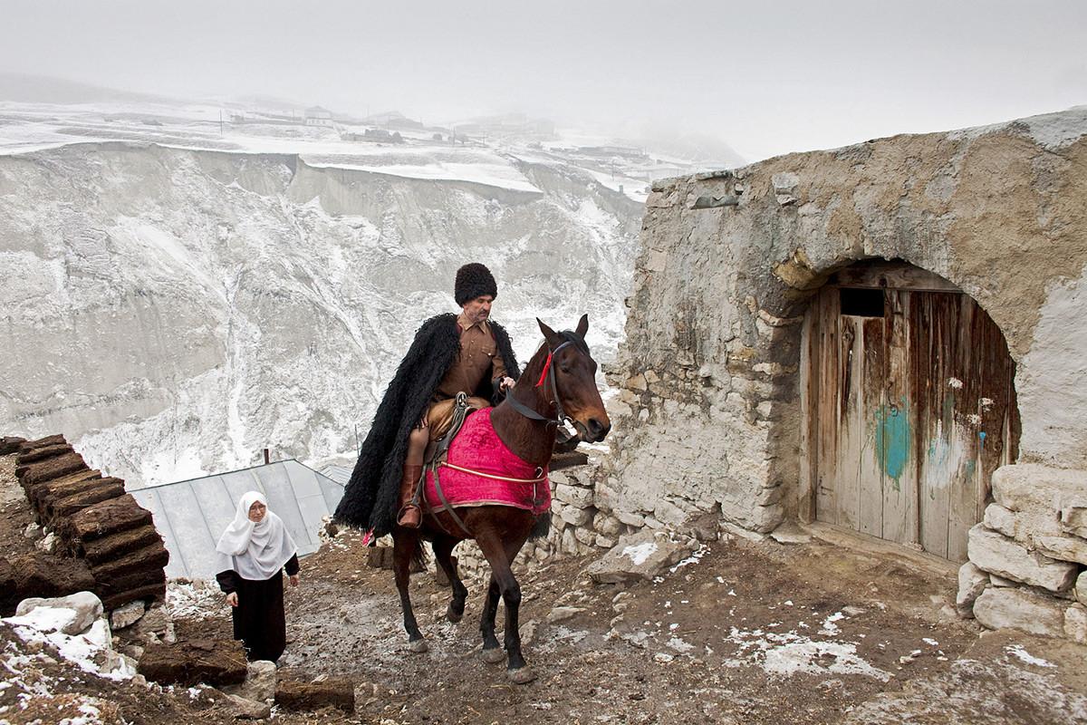 ダゲスタン共和国、カフカス山脈のアンディ村