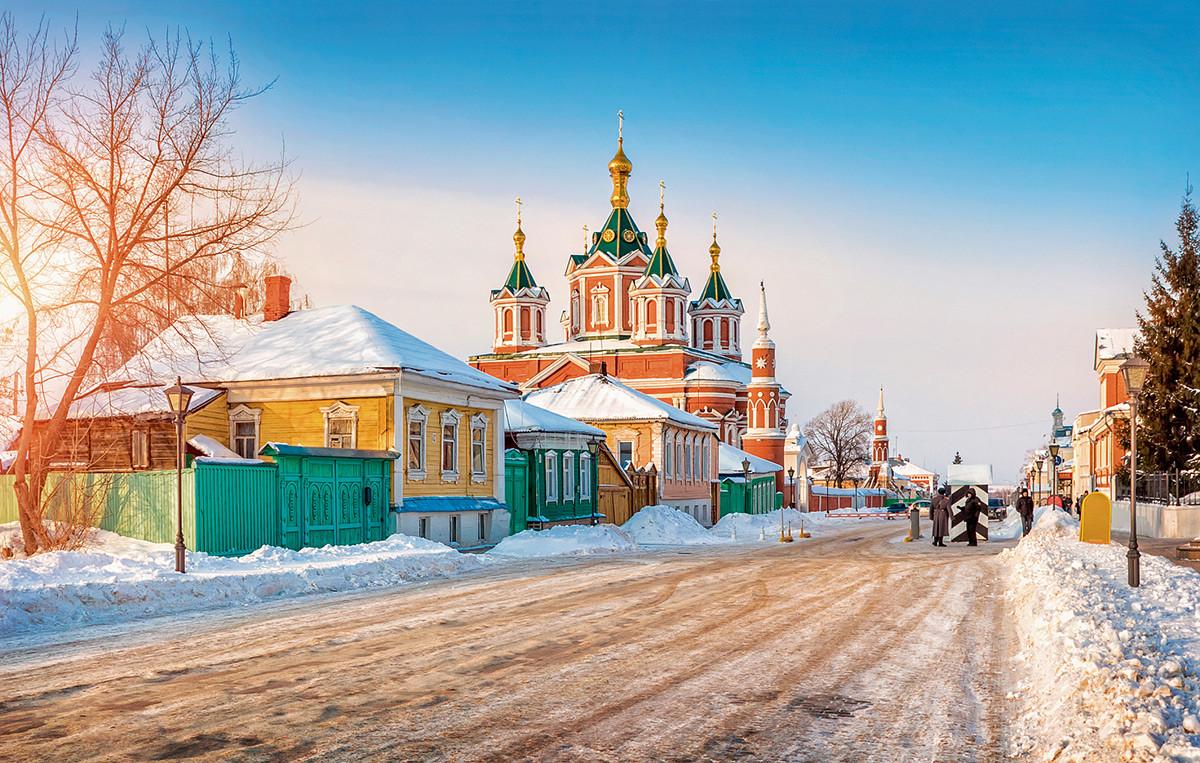 モスクワ州、コロムナの町
