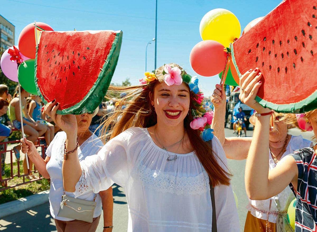 ヴォルゴグラート州、スイカ祭り