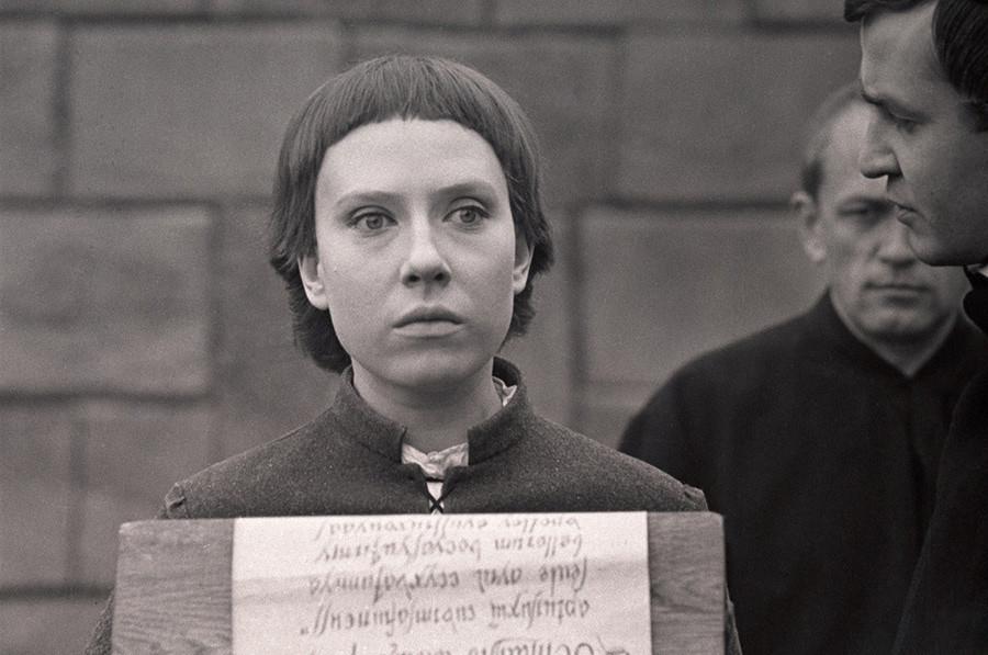 Inna Čurikova v filmu