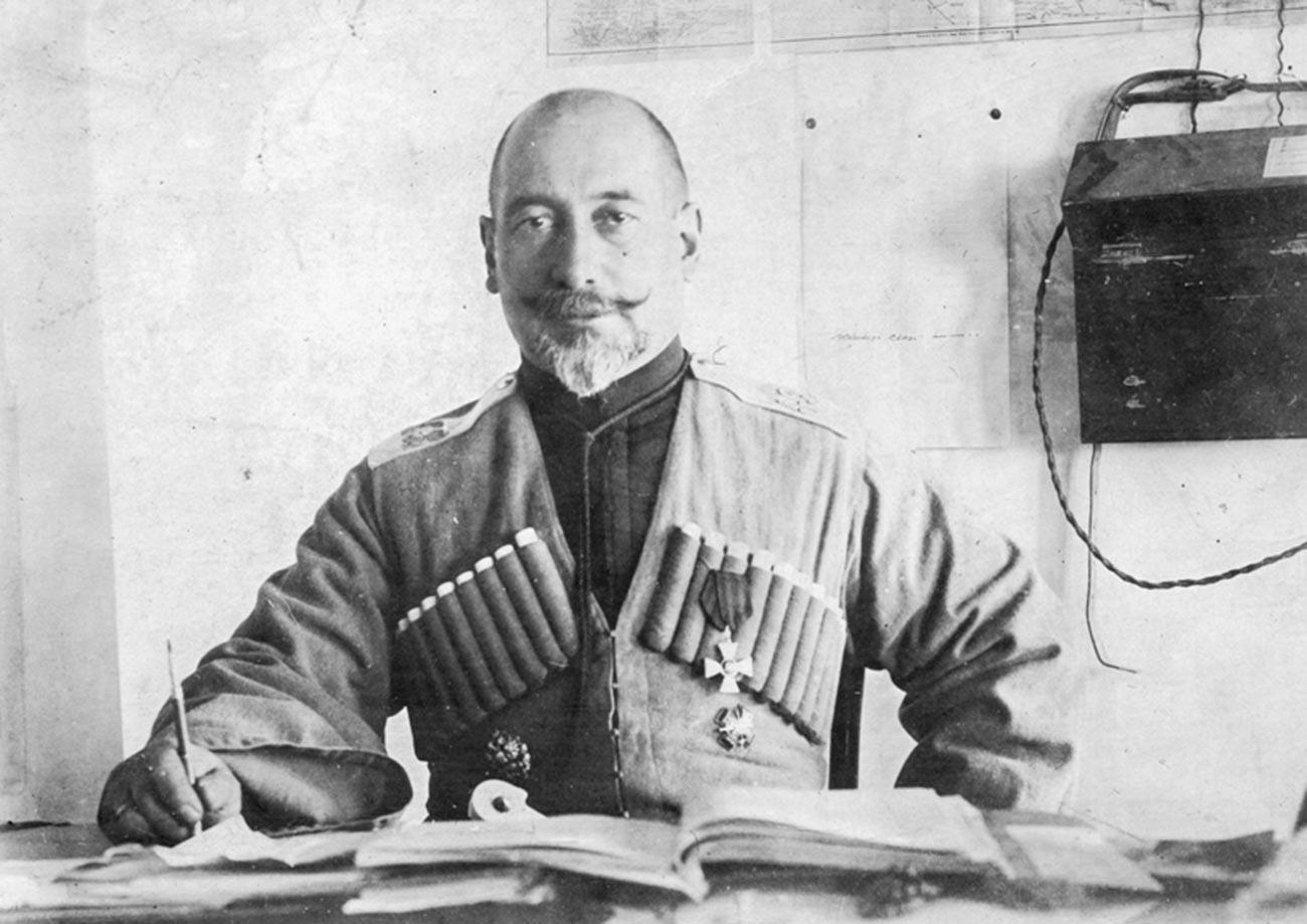 General Nikolai Baratov.