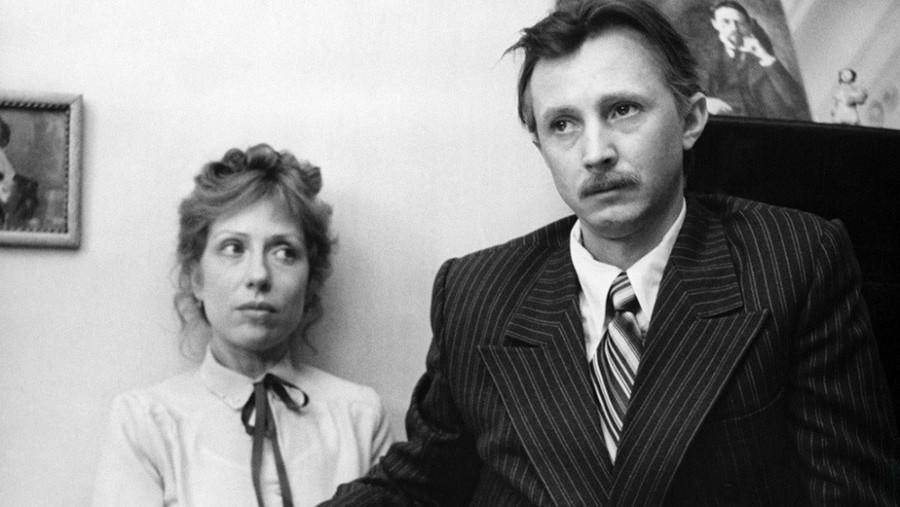 Inna Čurikova in Nikolaj Burljaev v filmu