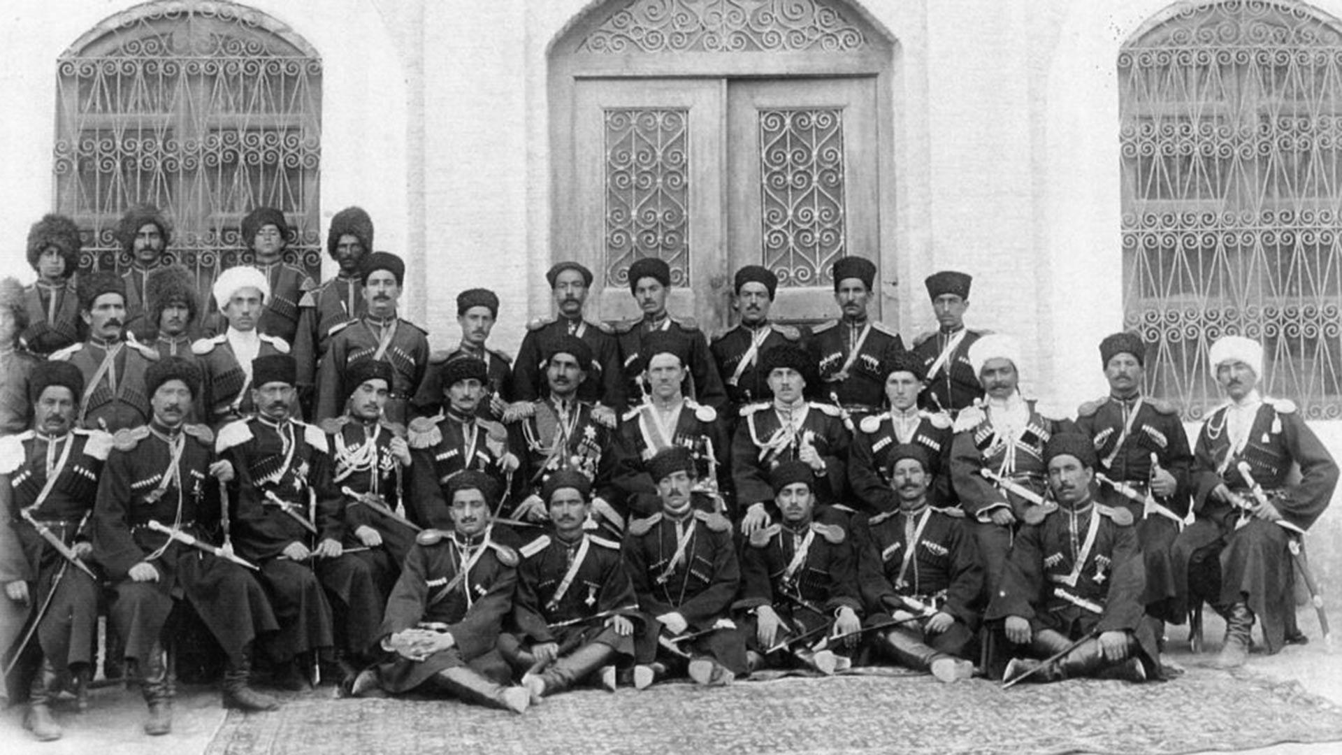 Die persische Kosakenabteilung