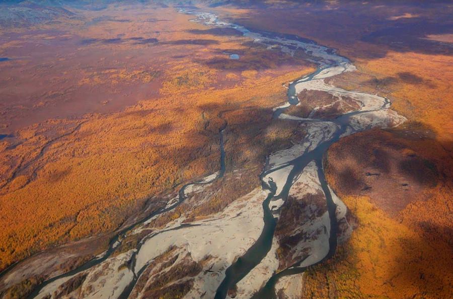 Kolyma-Fluss