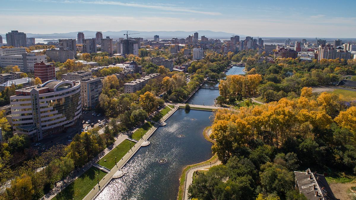 ハバロフスク市は、アジアで最もヨーロッパ的な都市としばしば言われる。