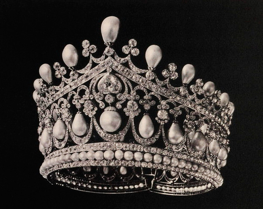 Голяма диамантена диадема, 1831