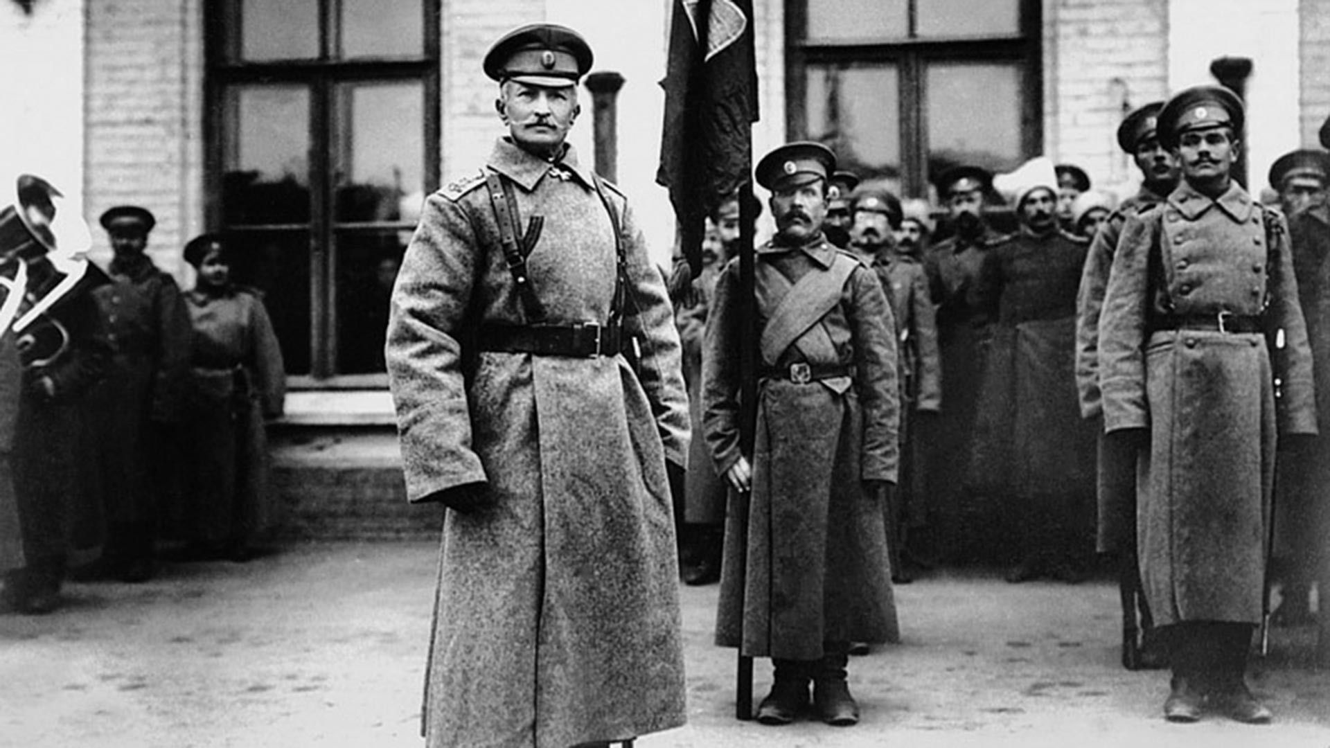 Prvi svjetski rat. General A. A. Brusilov.