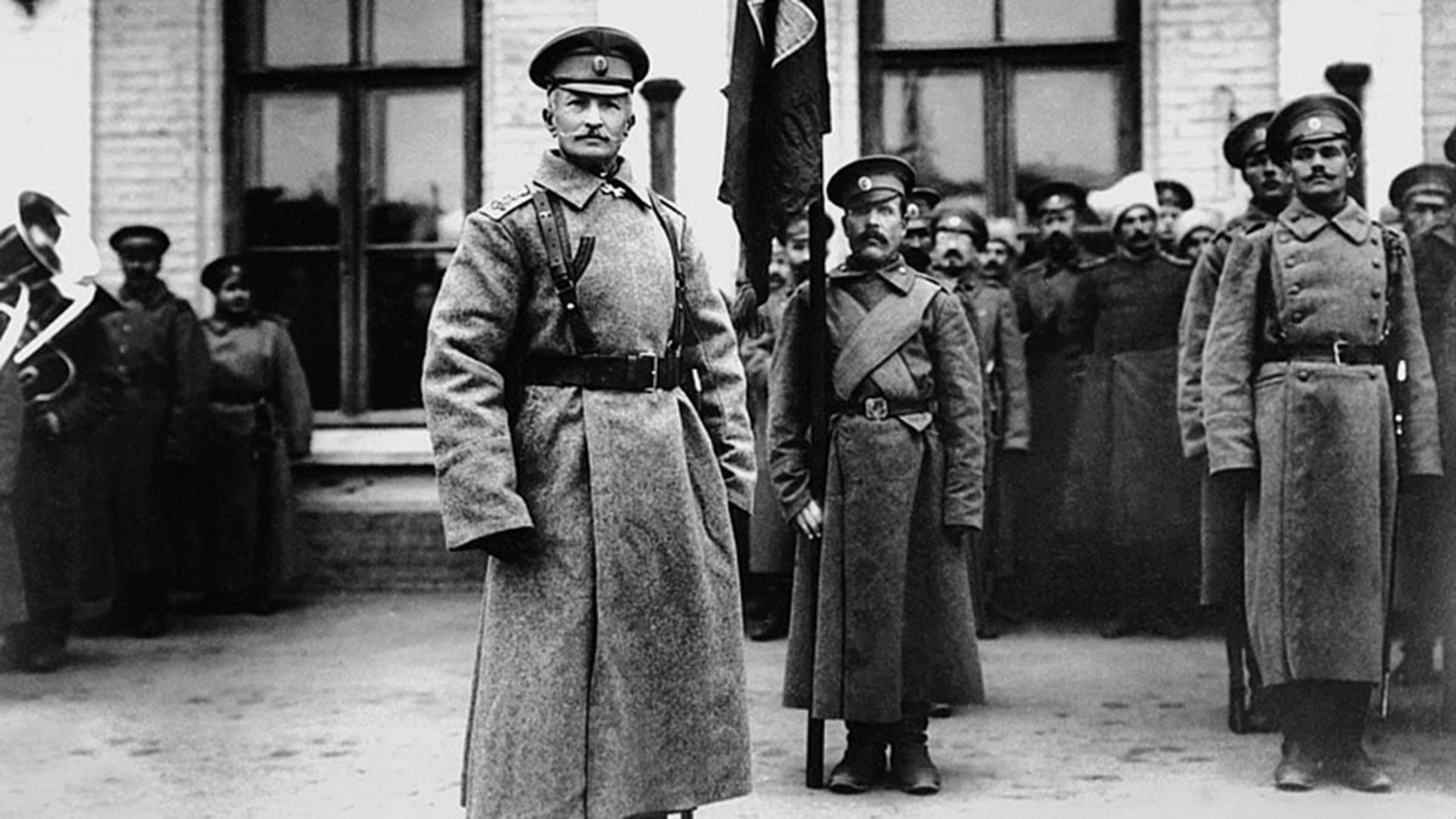 Първата световна война Генерал А. А. Брусилов