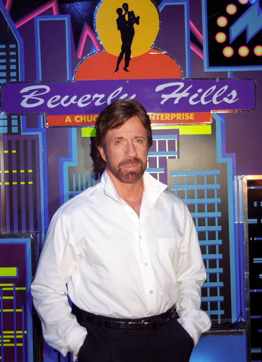 Chuck Norris in Moskau