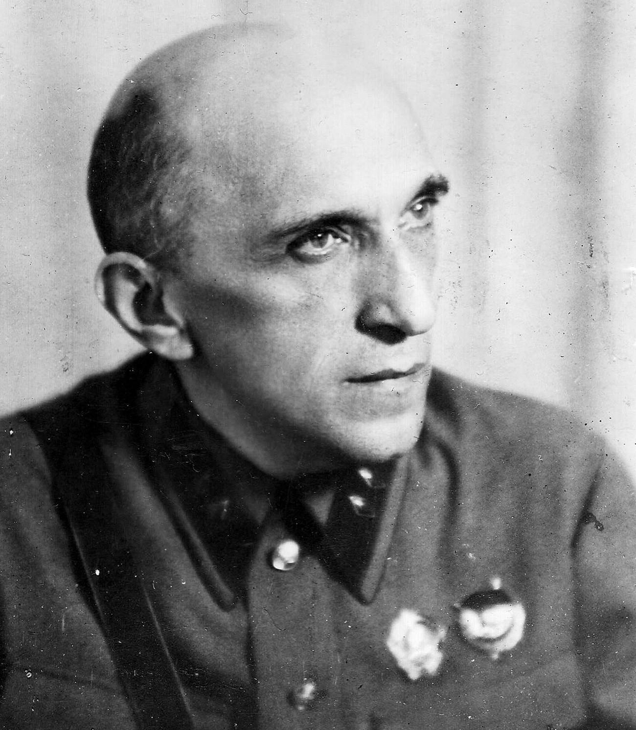 Jakov Isakovič Serebrjanski, 1941.