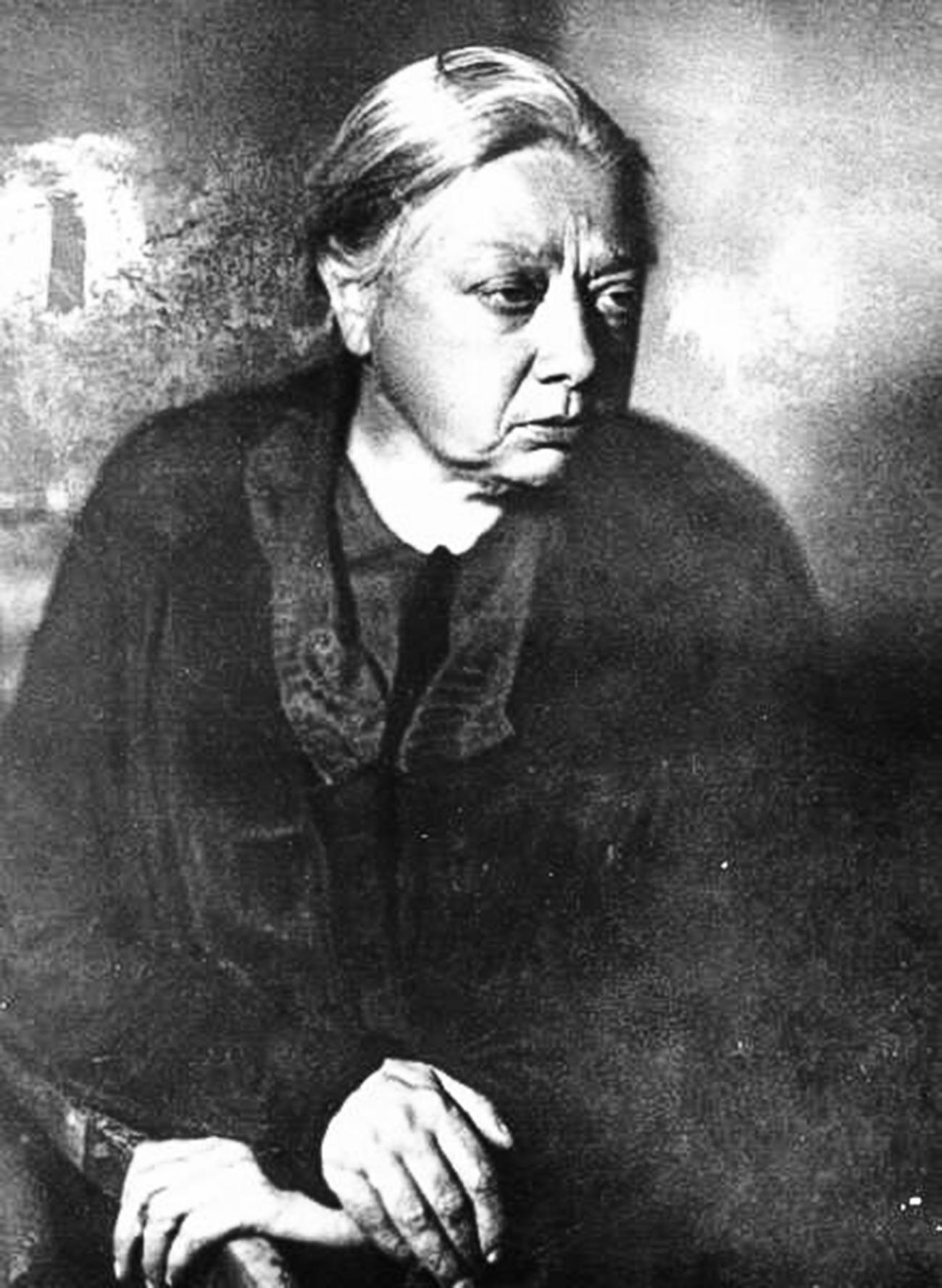 Lenin's wife and revolutionary, Nadezhda Krupskaya, 1932
