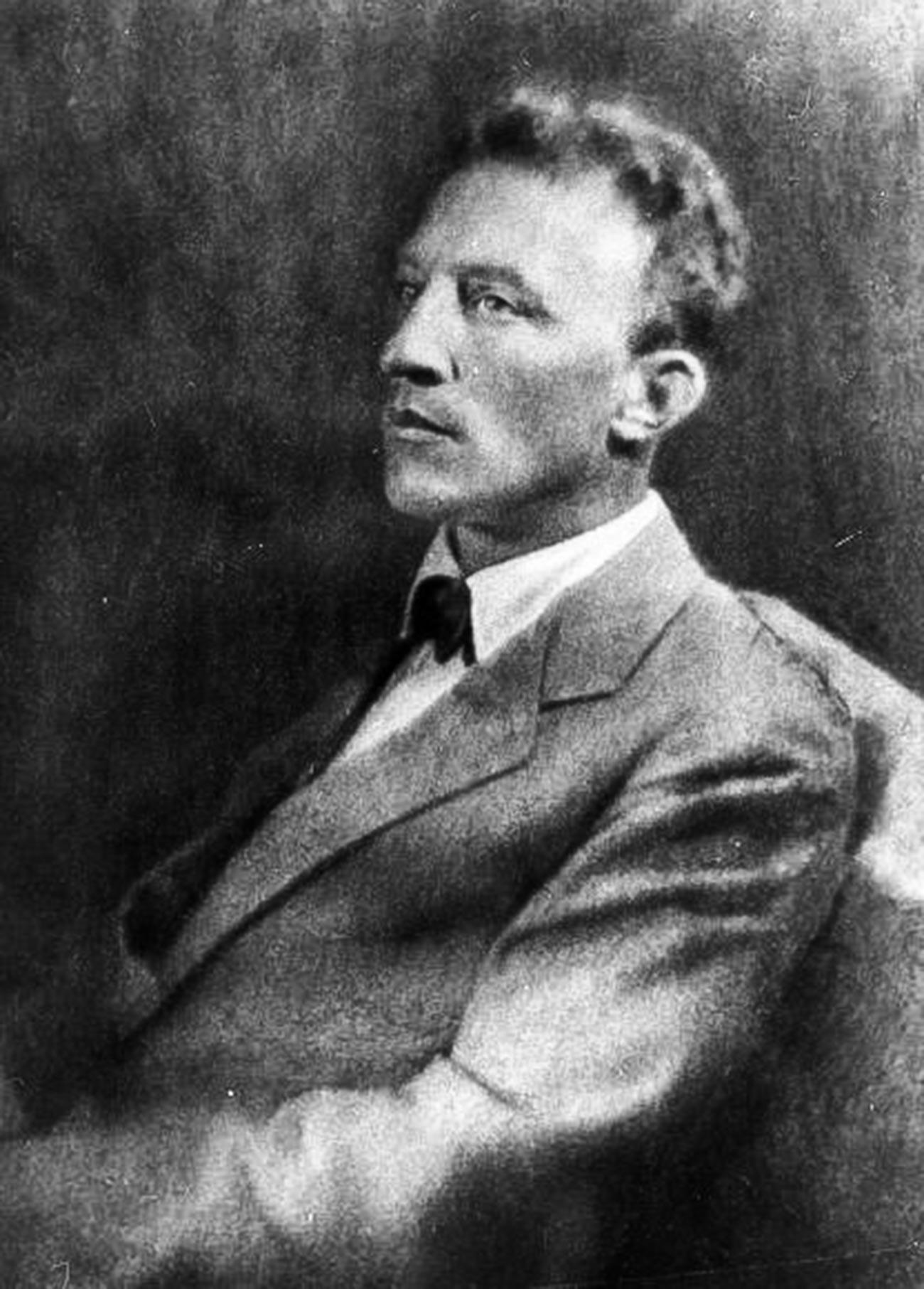 Silver-age poet Alexander Blok, 1920