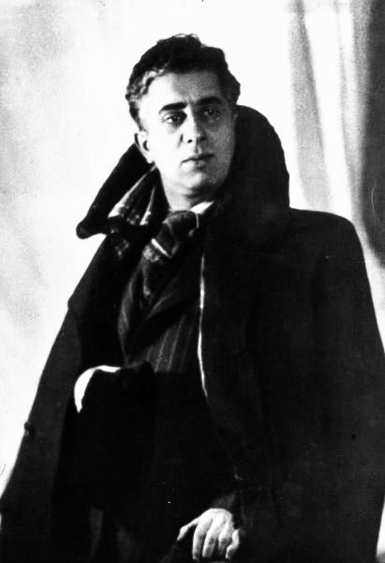 Famous composer Aram Khachaturyan, 1939