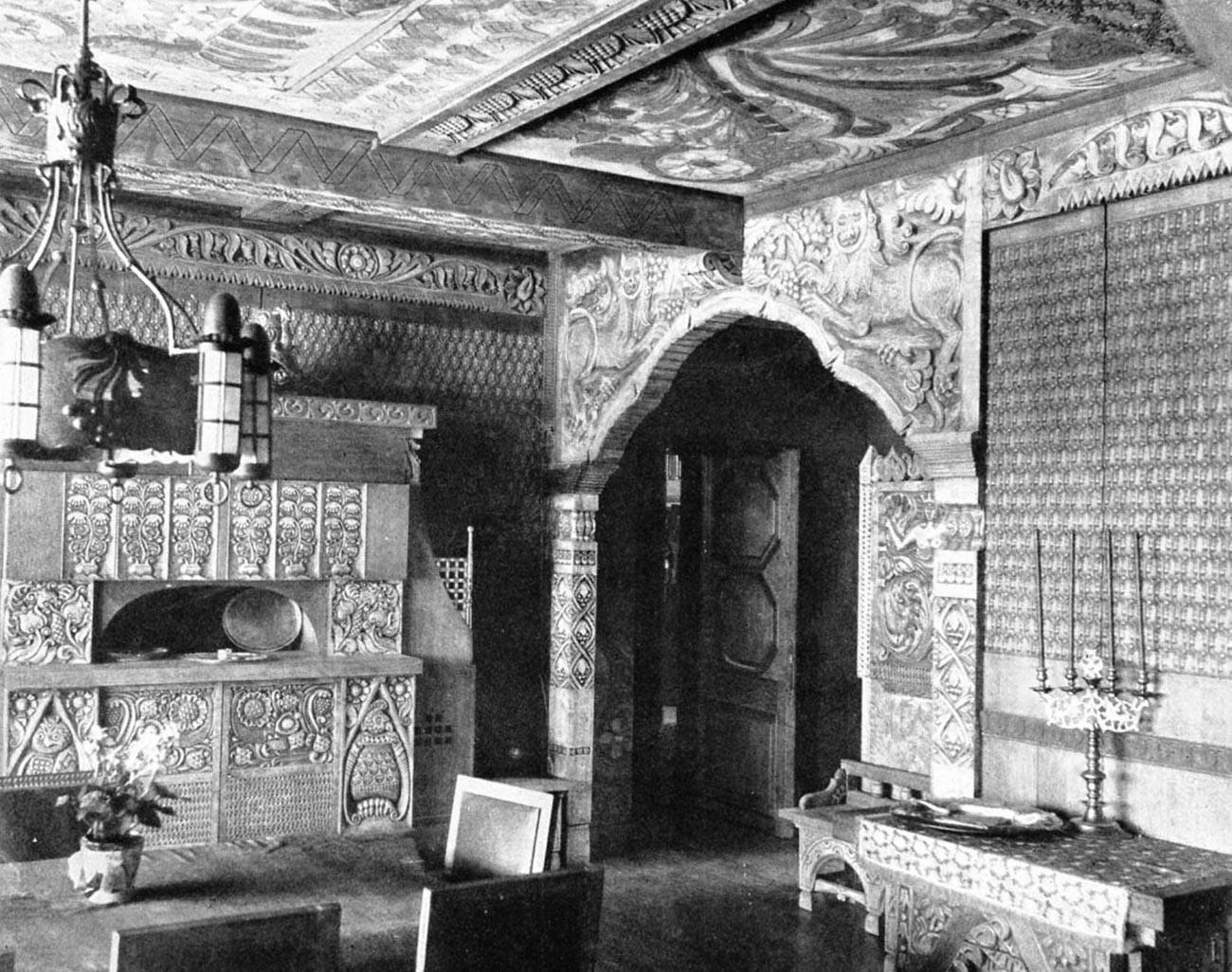 Notranjost hiše Percove