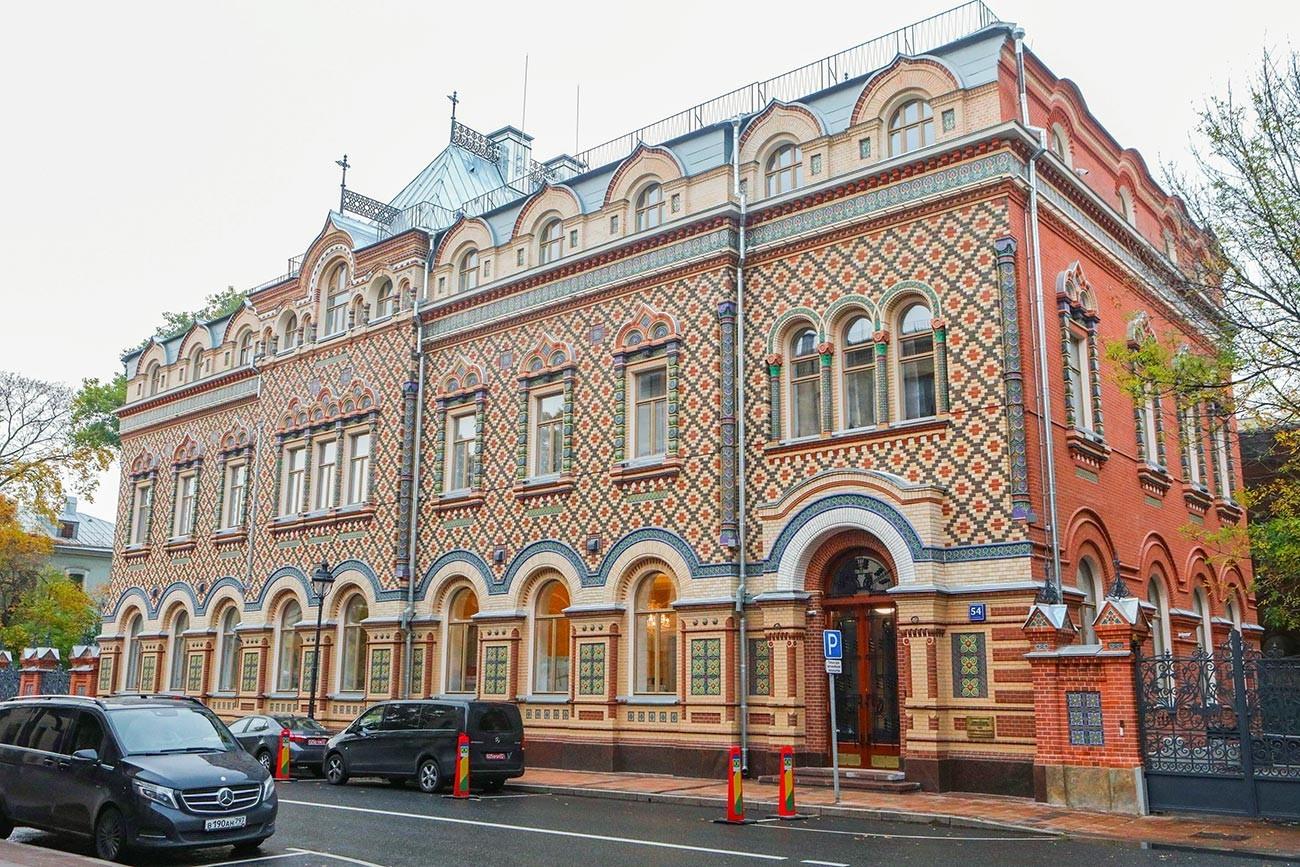 Vila Lopatine na ulici Bolšaja Nikitskaja po obnovi