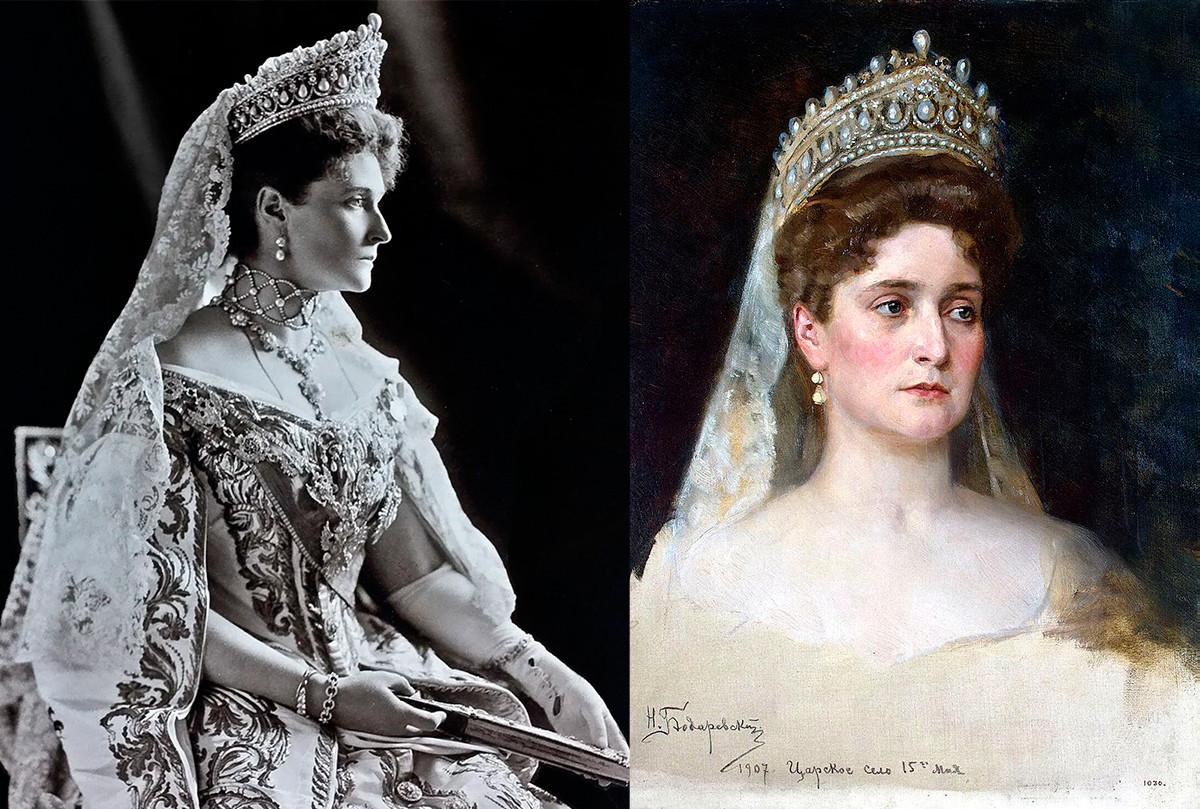 Царицата Александра Фјодоровна.
