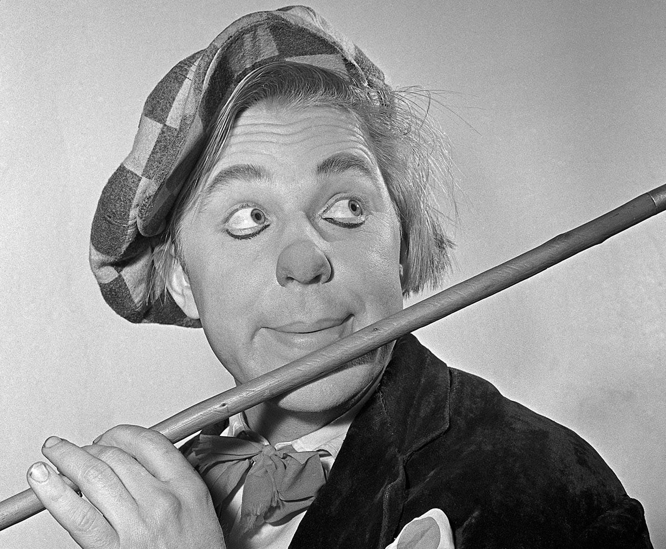 Oleg Popov was nicknamed the 'Sunny Clown'.