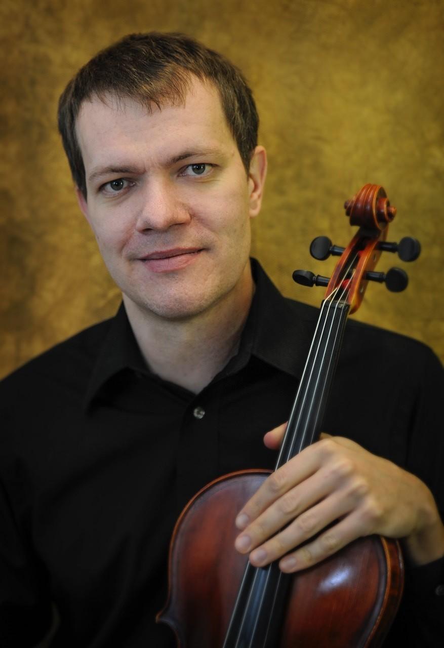 O violista russo Mikhail Bugaiev, da Orquestra Filarmônica de Minas Gerais, participará do evento.