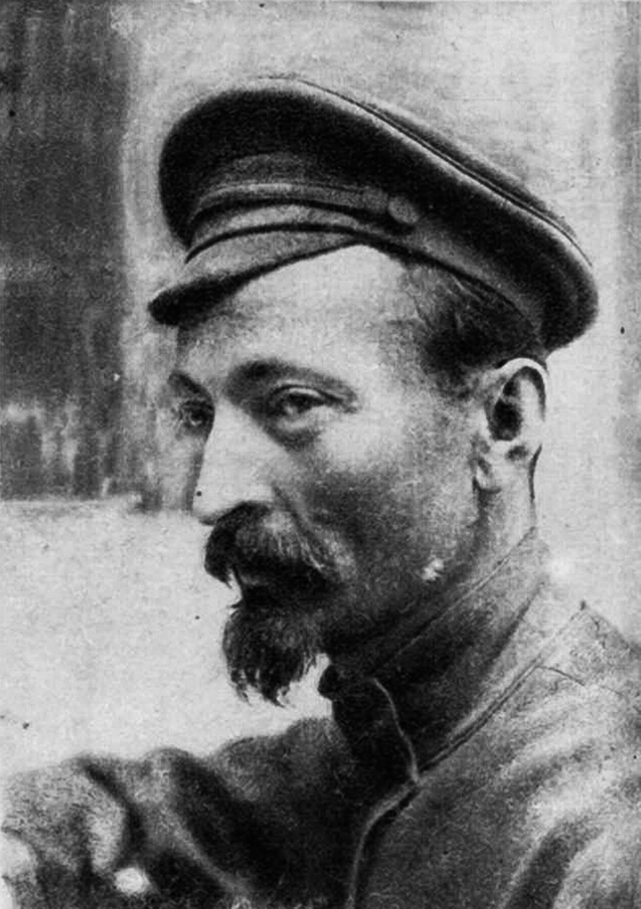 El creador de la famosa checa, Félix Dzerzhinski, 1921