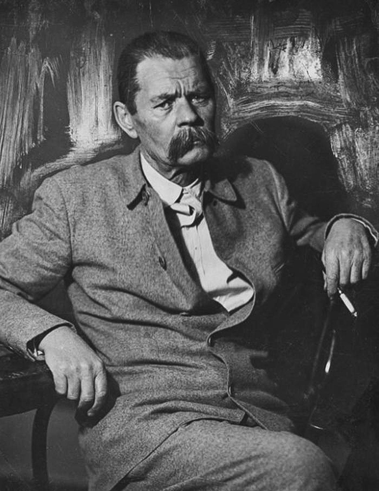 El escritor realisa Maxim Gorki