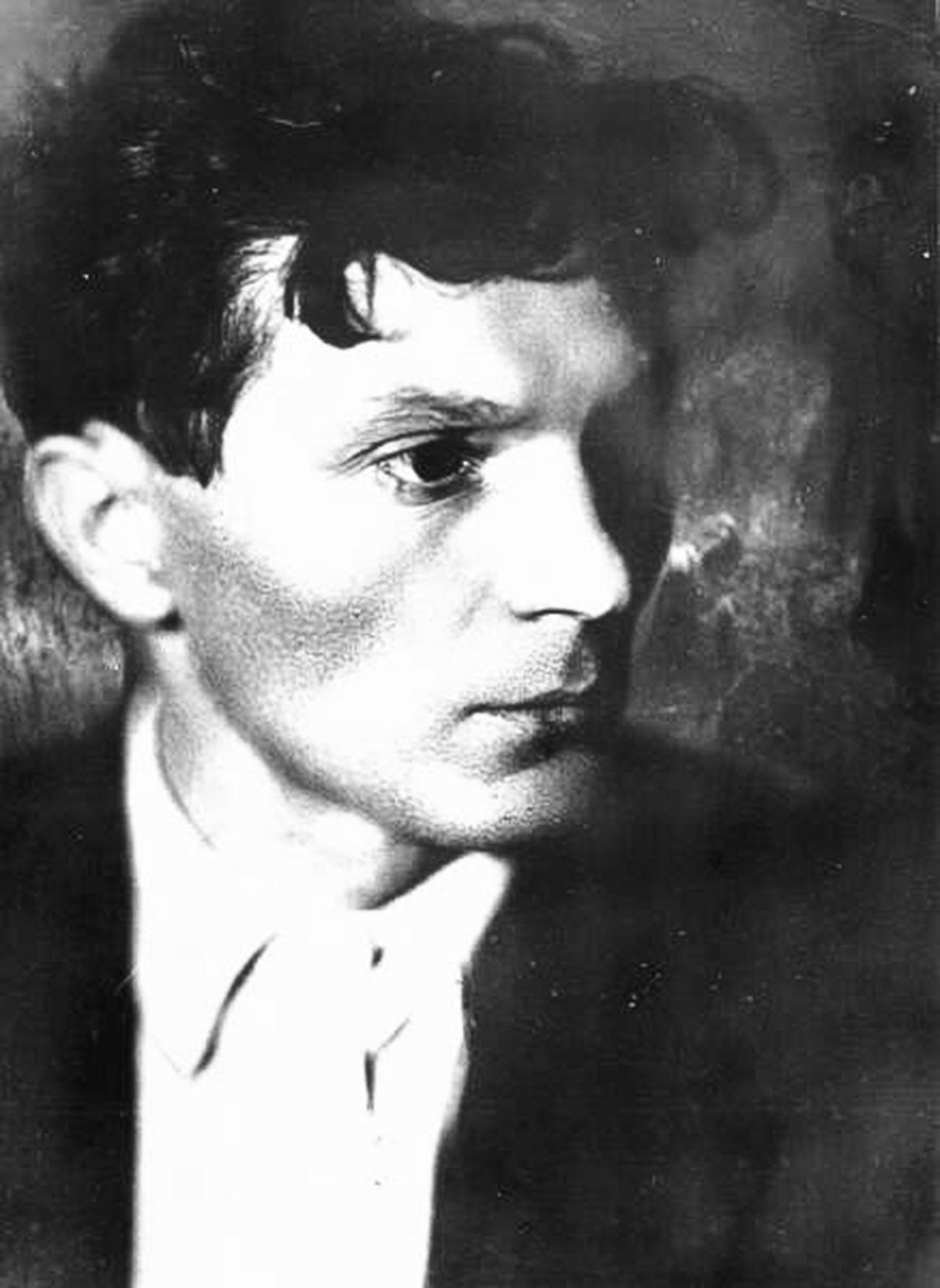 El director de cine Vsevolod Pudovkin, 1925