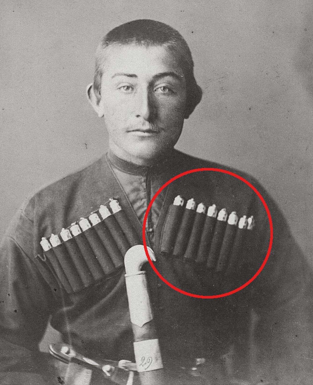 Seorang pria dari perdesaan Dagestan.