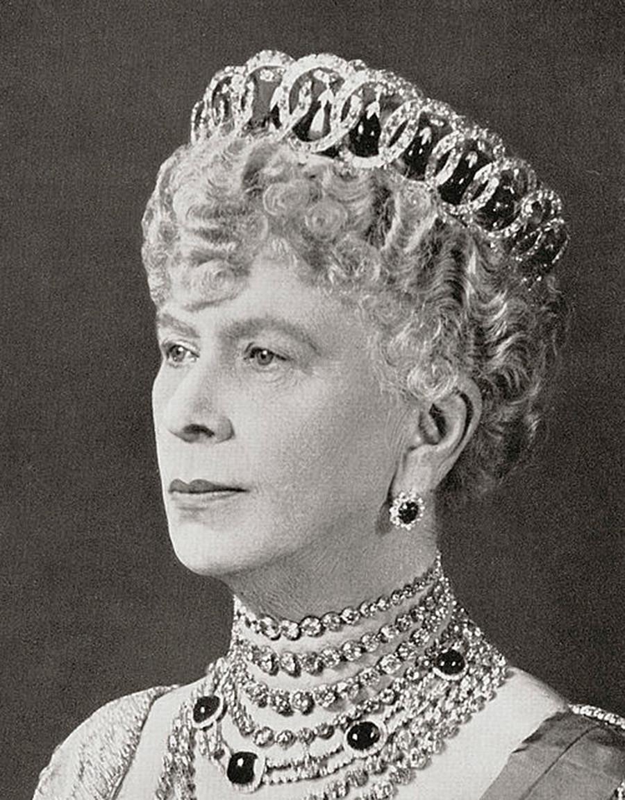 María de Teck con esta tiara