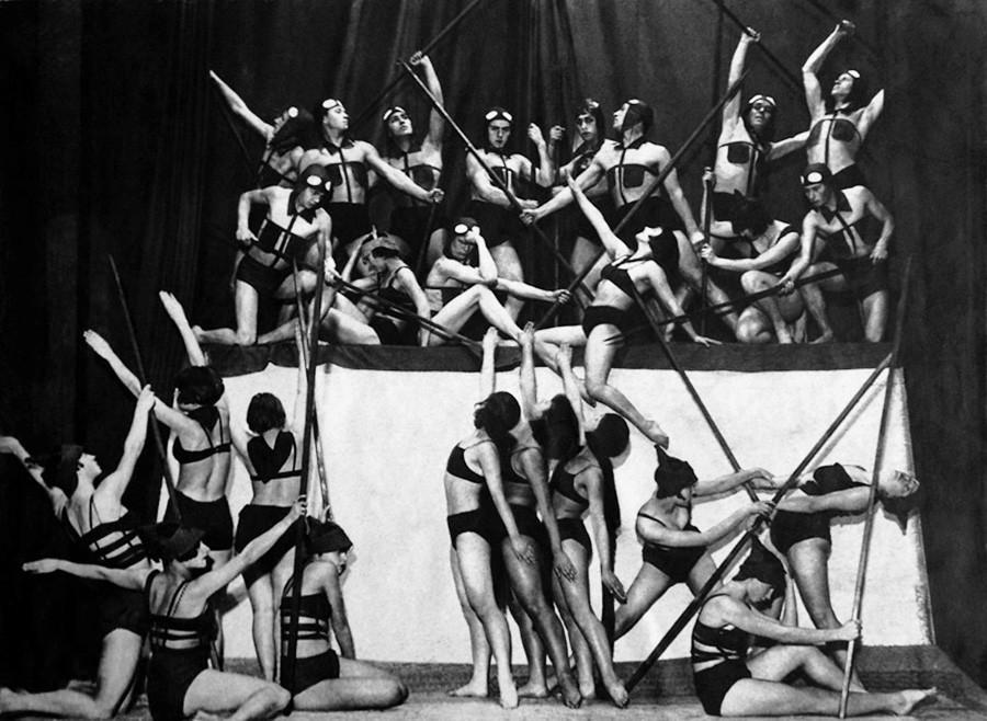 École de danse plastique d'Inna Bystrinina