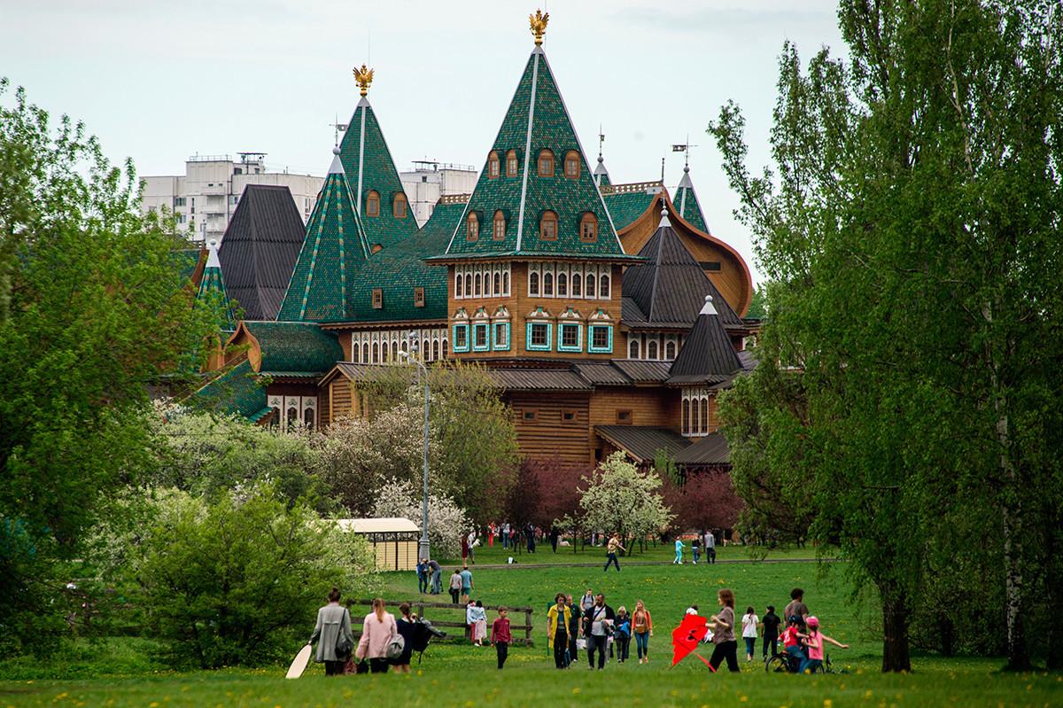 Park Kolomenskoje.
