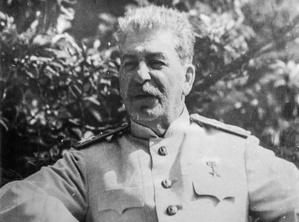 Генералниот секретар на Комунистичката партија на СССР.