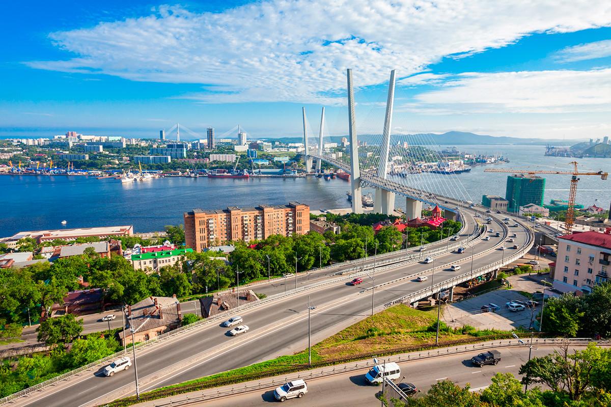 ウラジオストクの風景