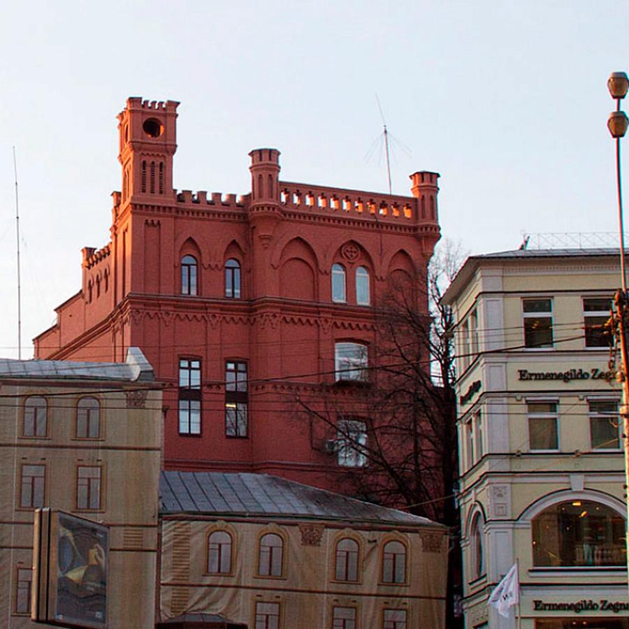 Arrière du bâtiment