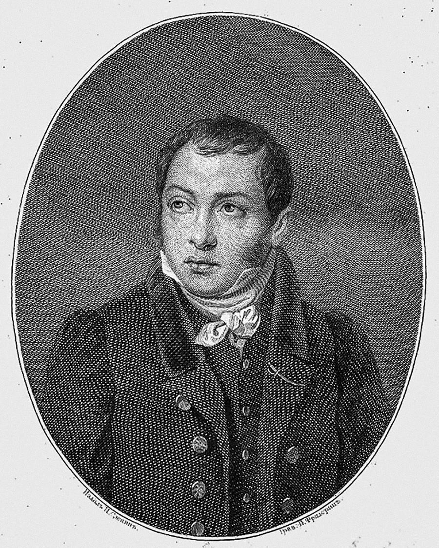 Портрет на И. Фридерик, 1828