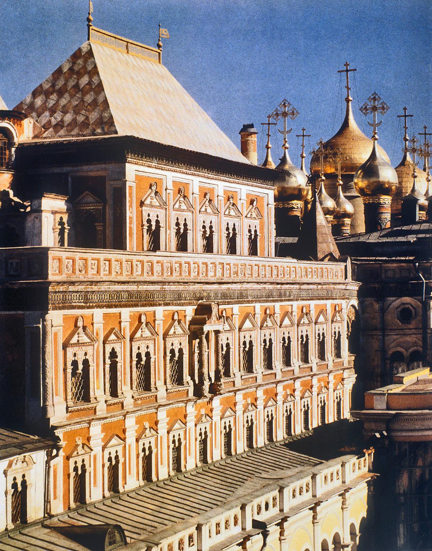 Le palais des Térems au Kremlin de Moscou