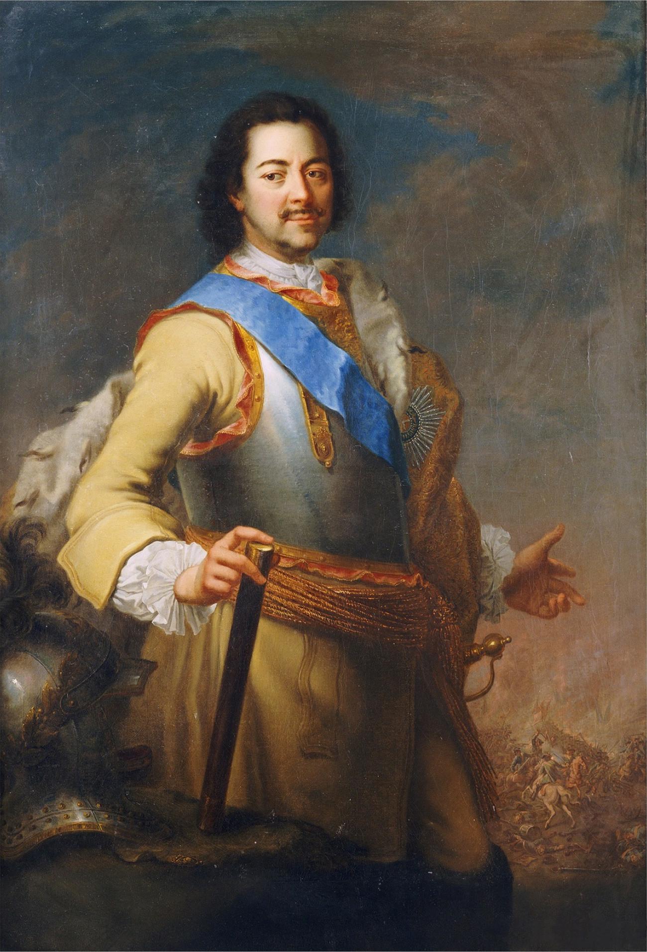 Портрет на Петър Велики