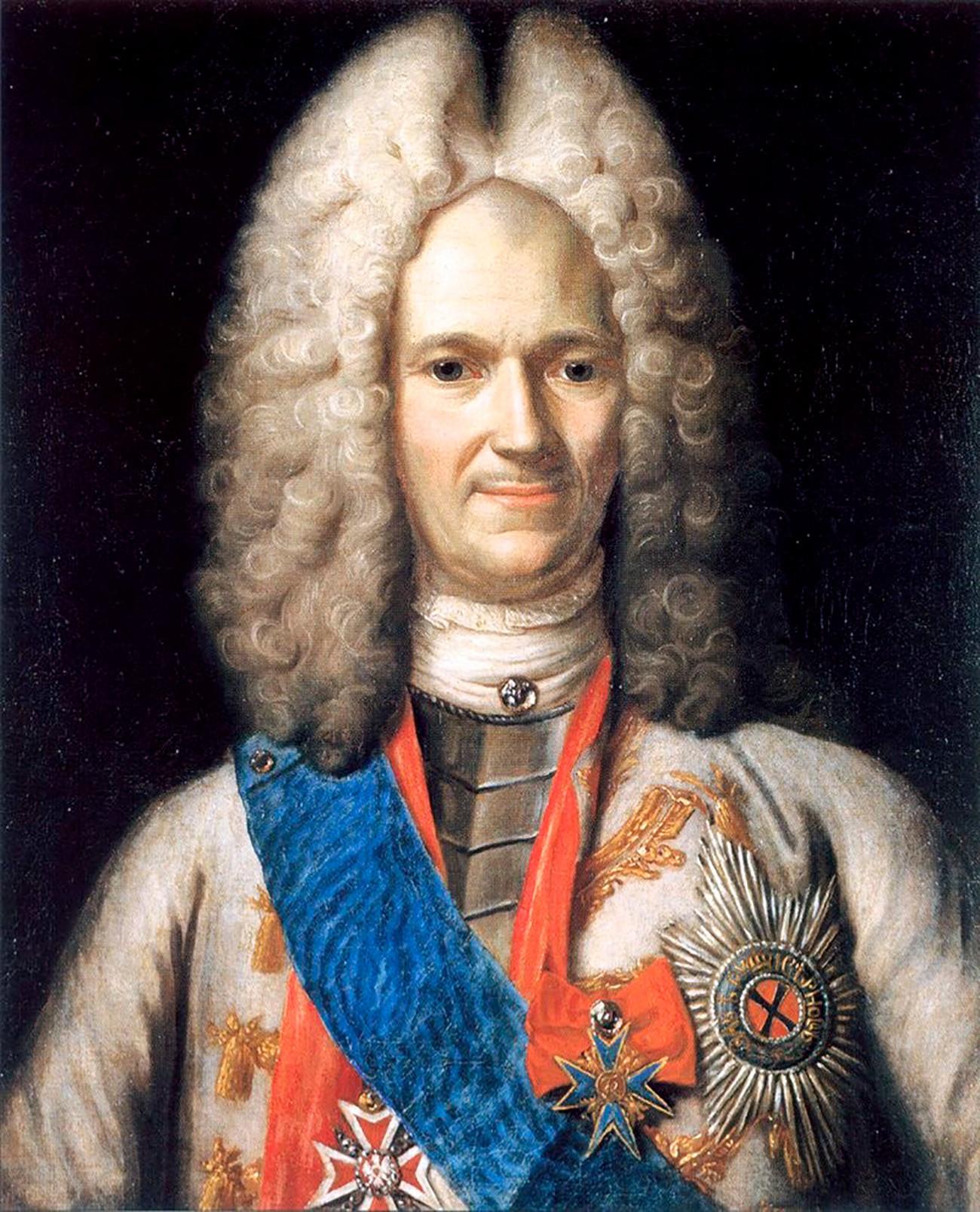 Портрет на А.Д.Меншиков