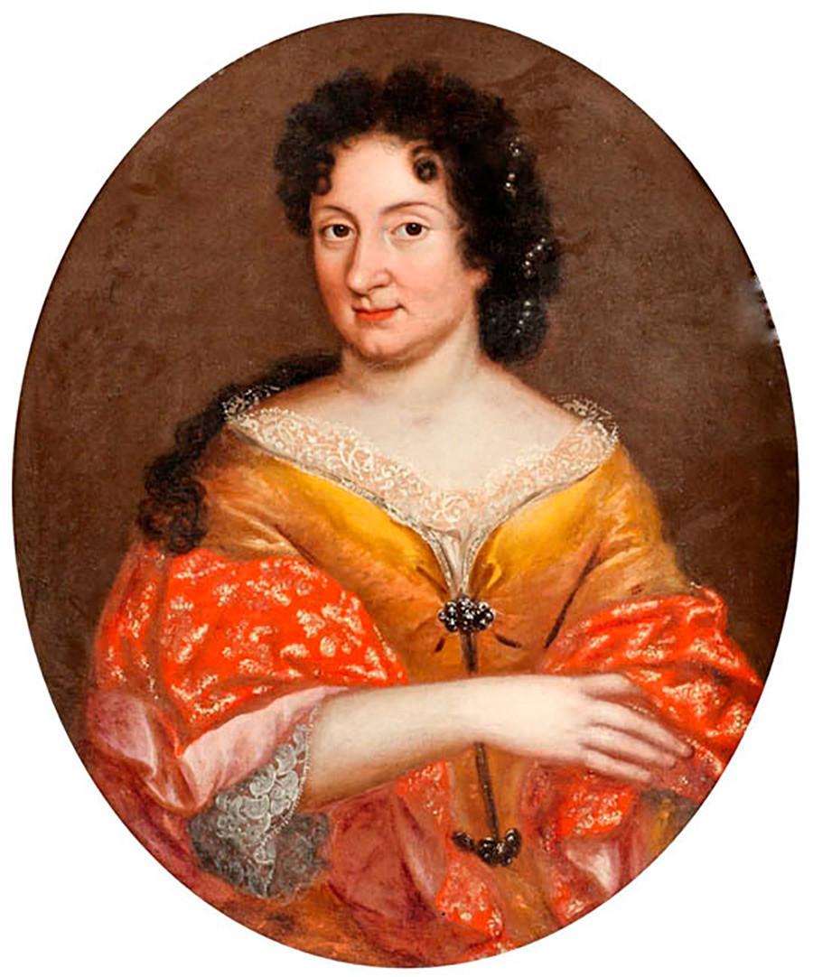 Предполагаем портрет на Анна Монс
