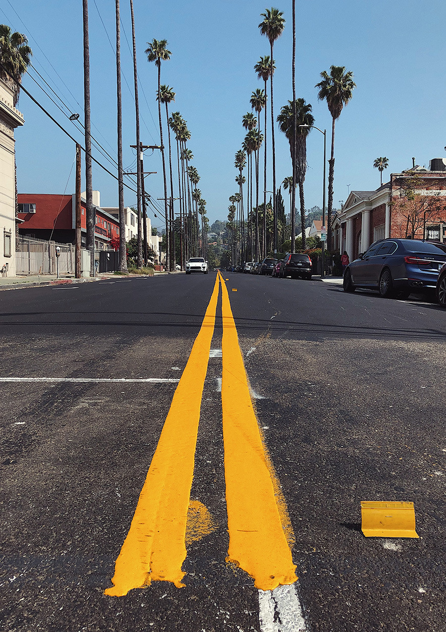 Route pour LA
