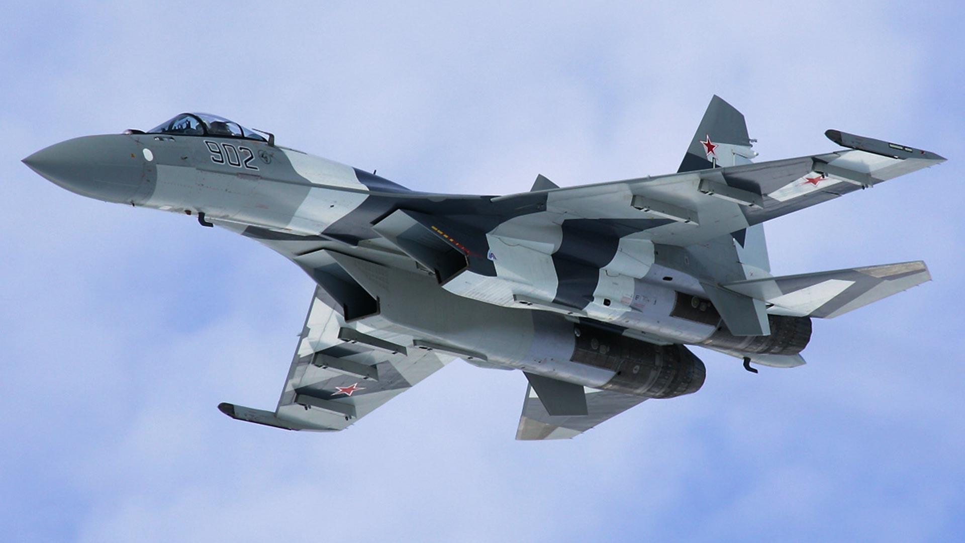 第4++世代ジェット戦闘機Su-35