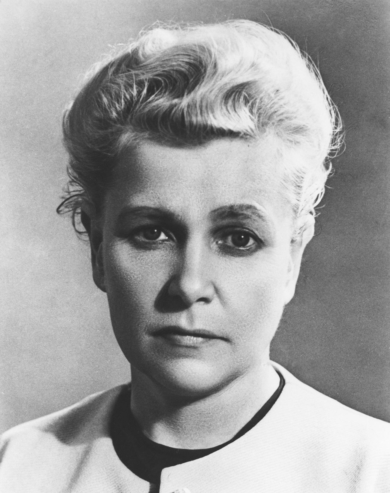 Minister of Culture of the USSR Ekaterina Furtseva