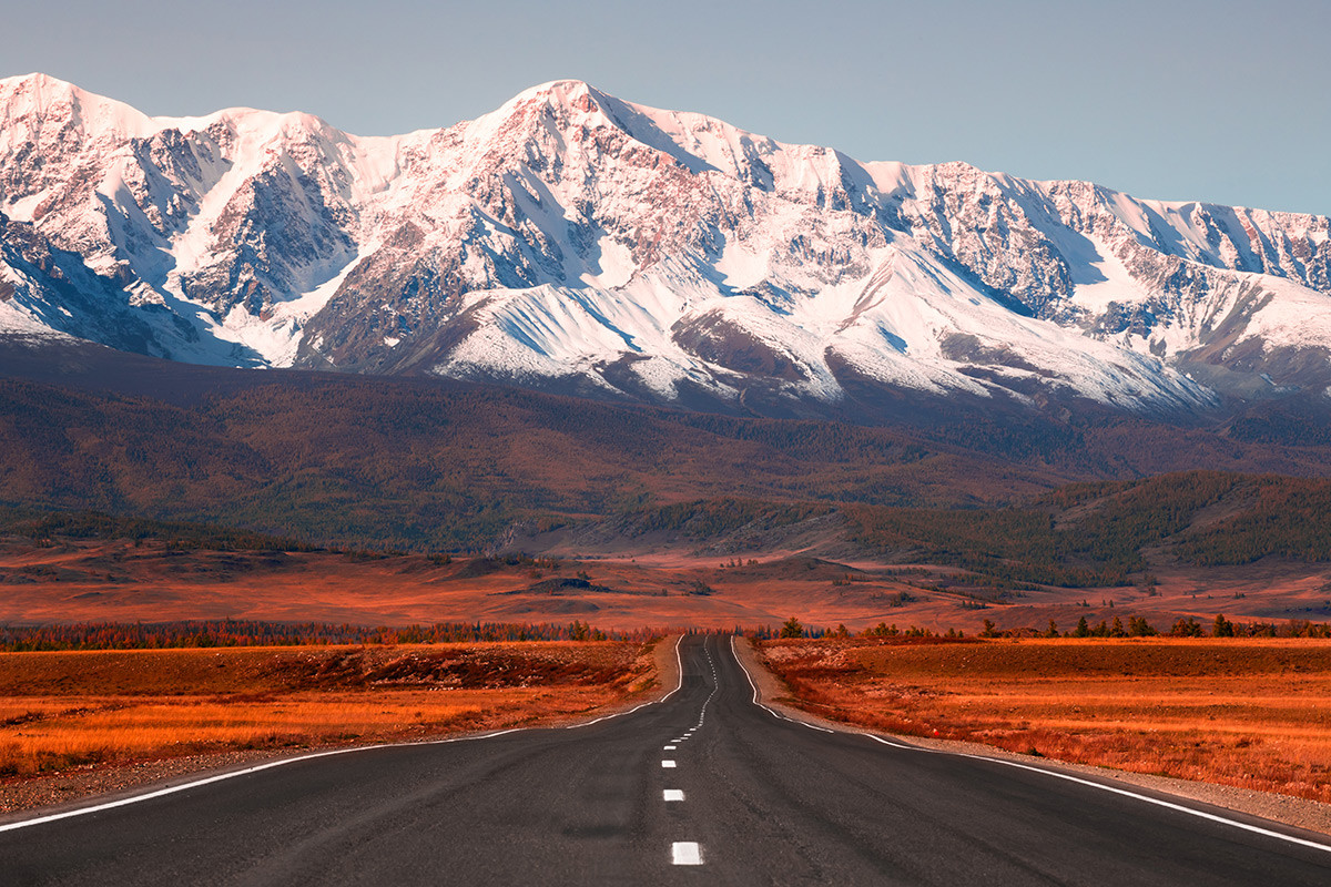 La carretera Chuiski